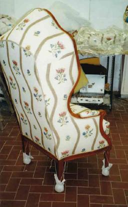 Adrom, formation tapisserie, galerie de Laurent Daniel, maître tapissier