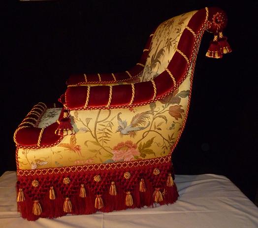 Laurent Daniel fauteuil concours MOF janv 2014