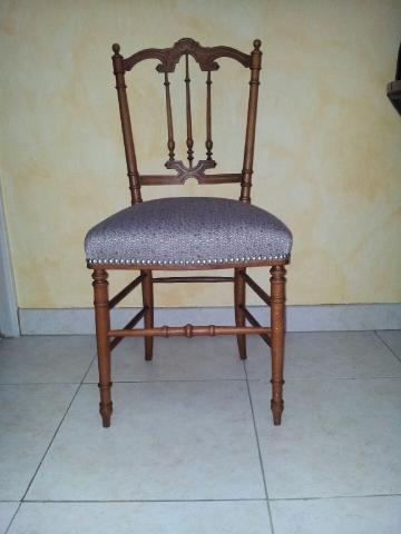 Adrom, formation tapisserie, galerie des élèves, petite chaise