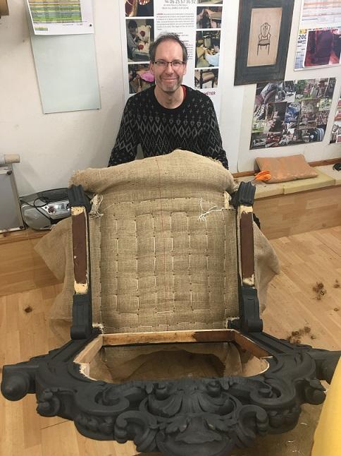 Adrom, formation tapisserie, atelier