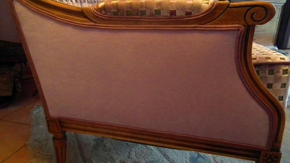 Adrom, formation tapisserie, galerie fauteuil du mois, décembre 2017, fauteuil Louis XVI