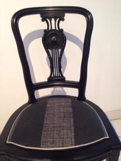 Adrom, formation tapisserie, galerie fauteuil du mois, janvier 2018, chaise