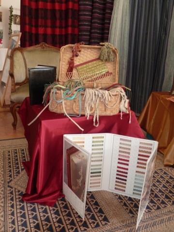 Adrom, formation tapisserie, exposition Vauréal