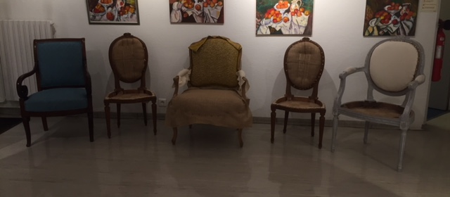 Adrom, formation tapisserie, exposition Le Pecq