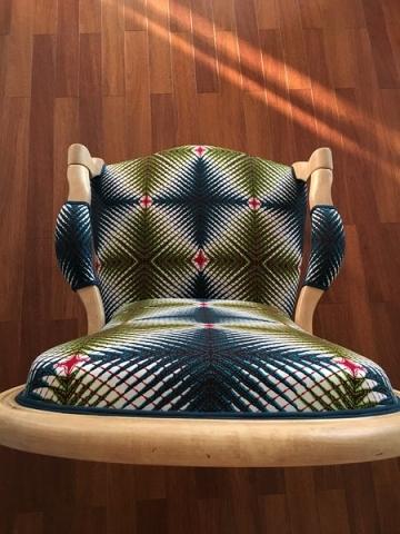 Adrom, formation tapisserie, galerie fauteuil du mois, juin 2018, Voltaire