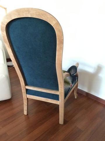 Adrom, formation tapisserie, galerie tous les fauteuils de juin 2018, Voltaire
