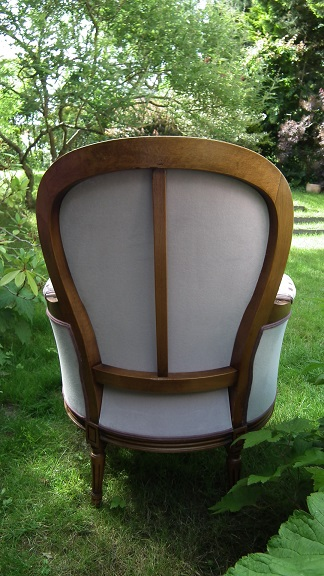 Adrom, formation tapisserie, galerie tous les fauteuils de juin 2018, Bergère