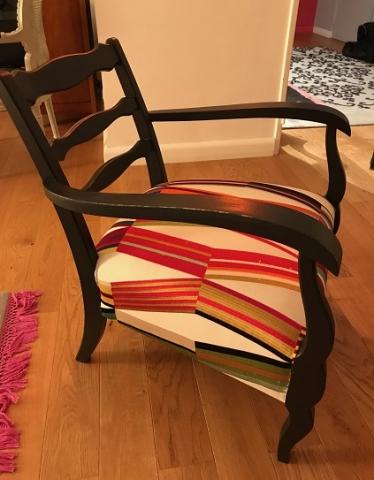 Adrom, formation tapisserie, galerie fauteuil du mois, septembre 2018
