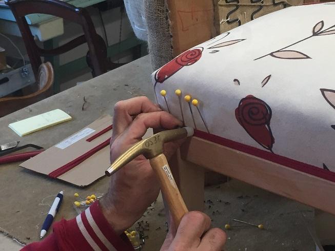 Adrom, formation tapisserie, la vie de l'atelier, stage d'initiation à la tapisserie