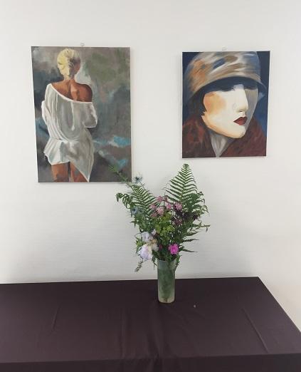 Adrom, formation tapisserie, exposition Vauréal, mai 2019